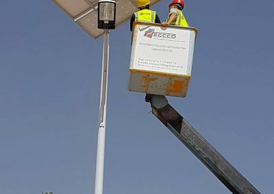 street lights maintenance