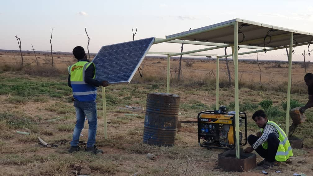 Young IDPs bring Solar Energy to their Community